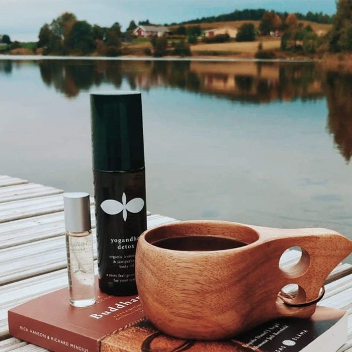 """Yogaoljor """"Feel Restored"""" Gåvoset - Yogandha Oils"""