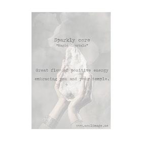 """Fotokonst """"Sparkly Core"""" 18x24cm - Soul Image"""