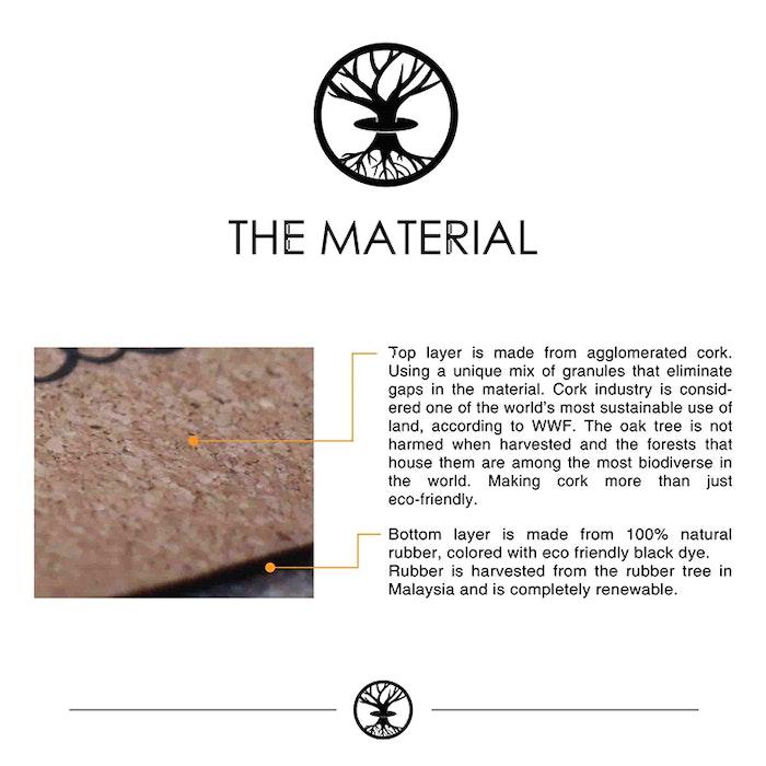 Yogamatta Kork The Golden Dream Gold Limited Edition - Yggdrasil