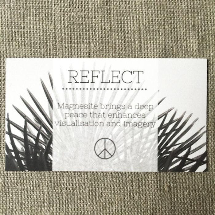 Yogahalsband Malas från The Beautiful Nomad - Reflect (turkos)