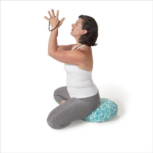 Meditationskudde Chattra Zafu från Chattra - Sky Feather