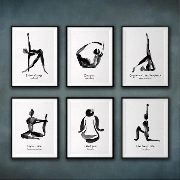 Yoga Print - Low Lunge