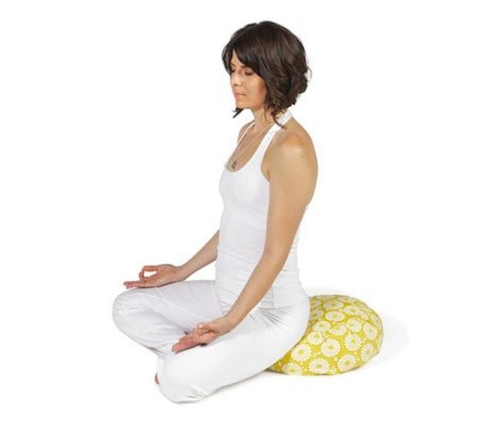 Meditationskudde Chattra Zafu från Chattra - Citron Marigold