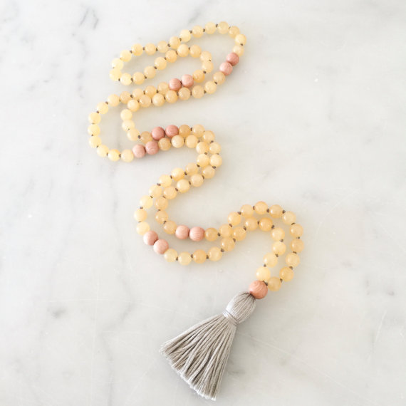 Yogahalsband Malas Cleanse - The Beautiful Nomad