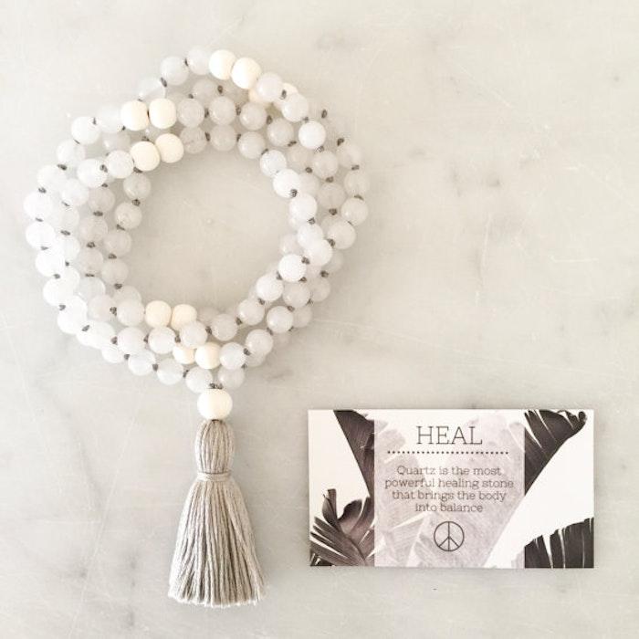 Yogahalsband Malas från The Beautiful Nomad - Heal