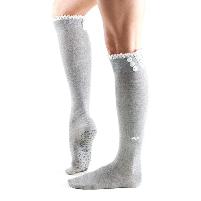 Yogastrumpor Tavi Noir Selah Knee High - Stone Grip Socks