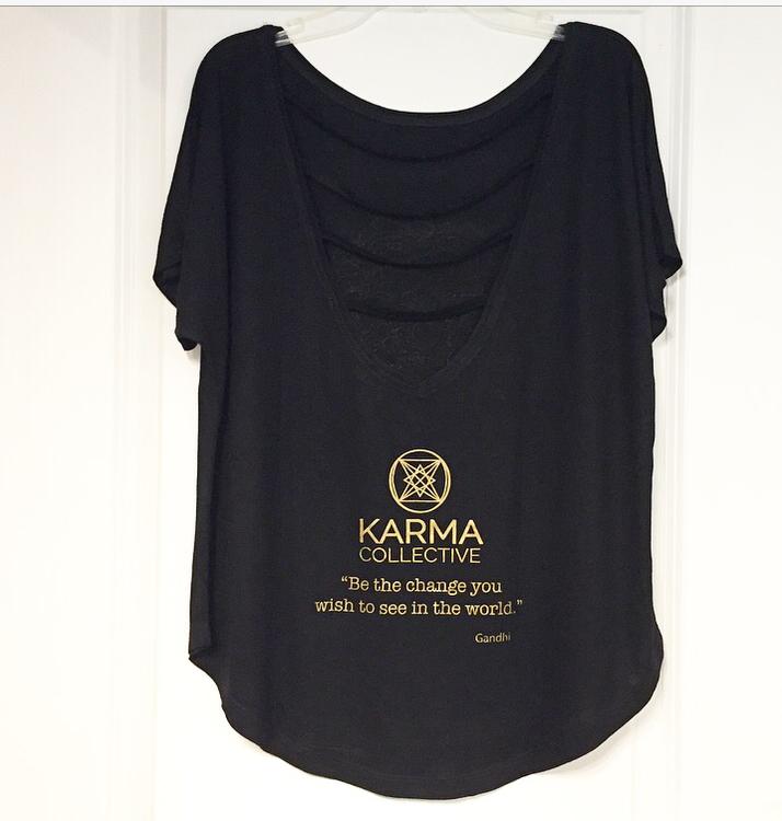 Tröja Mandala Namaste från Karma Collective - svart