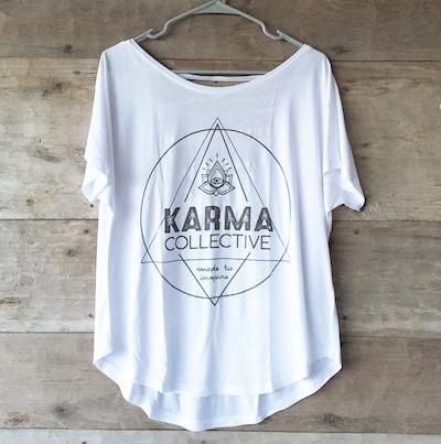 Tröja Karma  från Karma Collective - vit