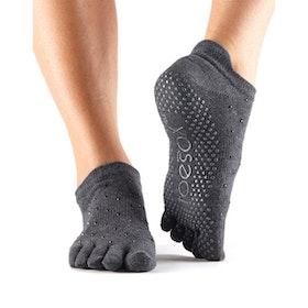 Yogastrumpor Toesox Fulltoe Lowrise Grip - Sultry
