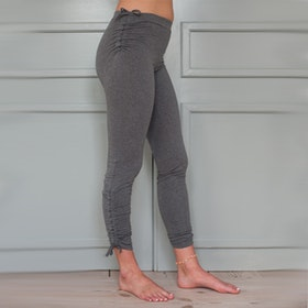 Yogaleggings Pigeon pants grey long från Paw Paw yogawear