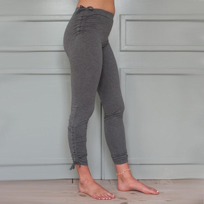 Yogaleggings Pigeon pants grey long från Paw Paw yogawear