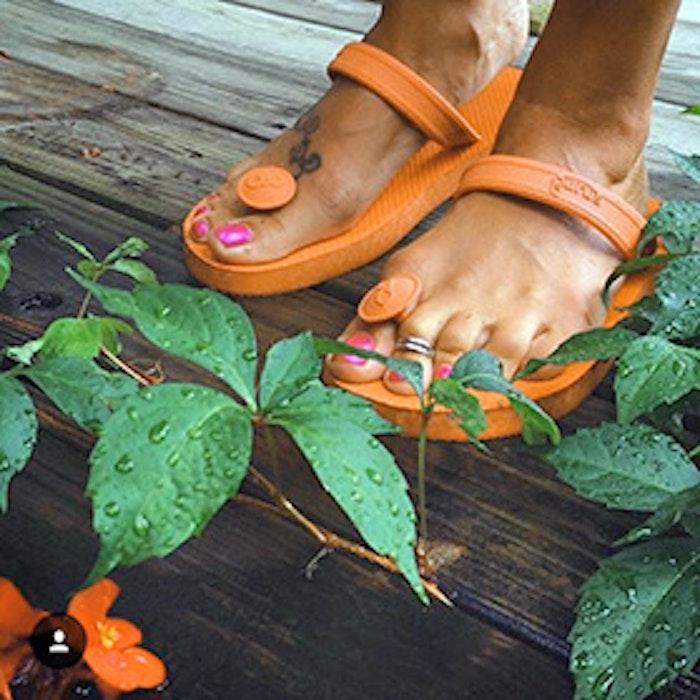 Gurus sandaler - Orange