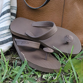 Gurus sandaler - Chai brown