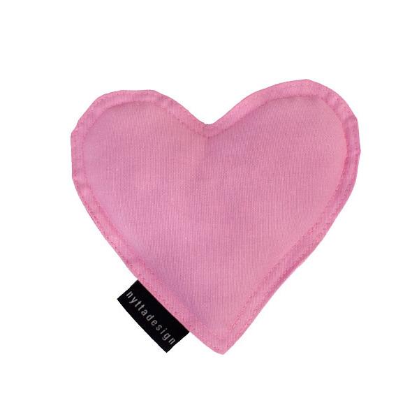Värme/kyla hjärta från Nytta Design - Ljusrosa