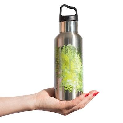 Vattenflaska Wisdom TEMPflask™ 0,5 L - Natur