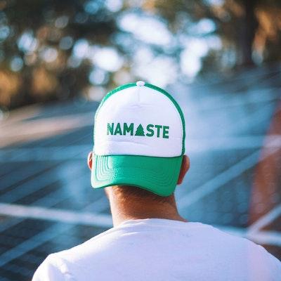 """""""Namaste""""  keps"""
