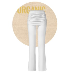 Yogabyxor long White pants skirt från Curare Yogawear