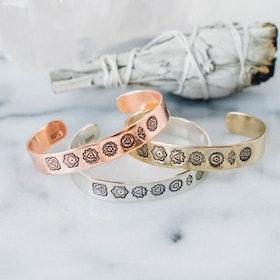 Armband i koppar från Zenned Out - Chakra