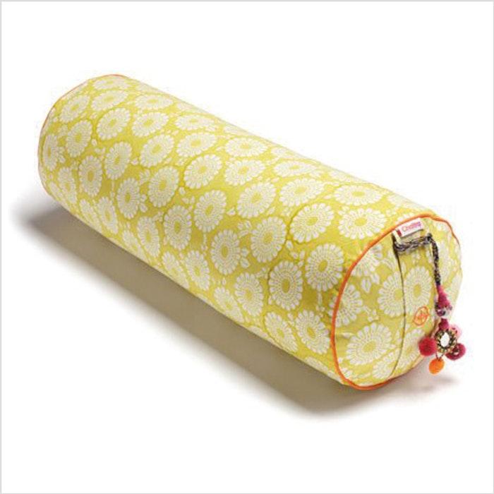 """Yogabolster Rund  """"Citron Marigold"""" - Chattra"""