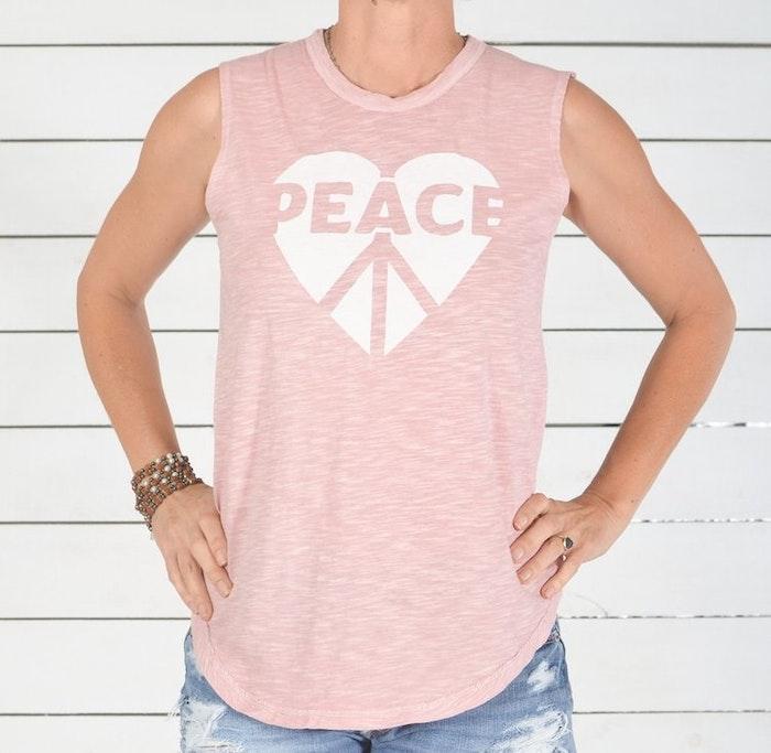 Linne Peace Heart Love från SuperLove Tees