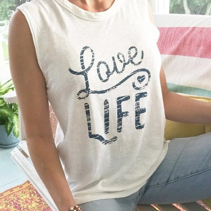Linne LOVE LIFE från SuperLove Tees
