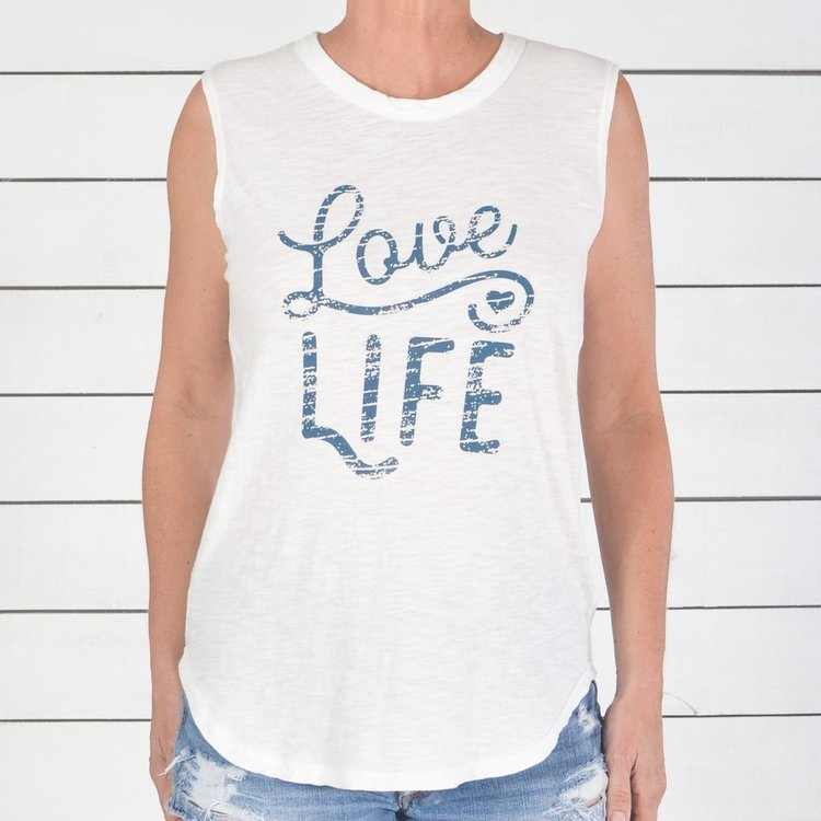 Linne LOVE LIFE från SuperLove Tees