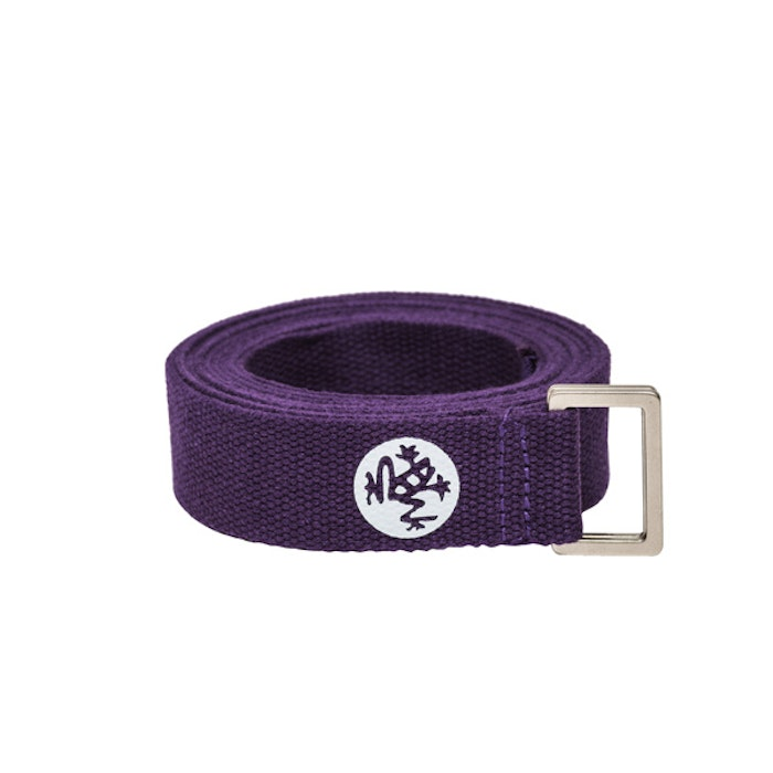 Yogabälte Unfold Magic/Purple från Manduka 183 cm