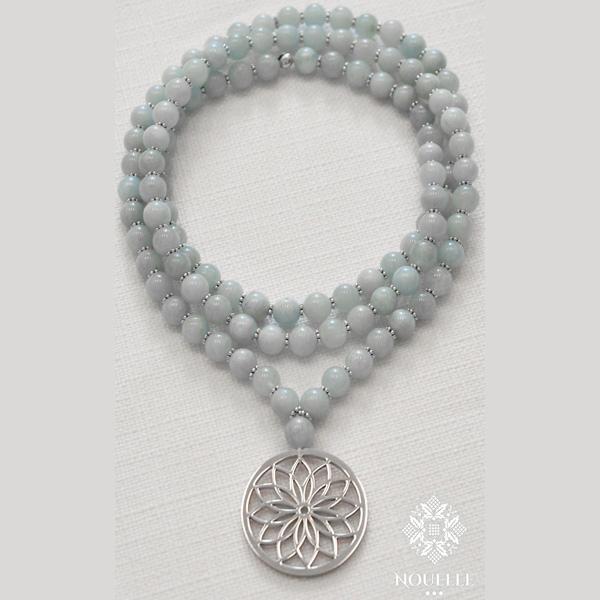 Mala halsband Bloom från Nouelle Aqua