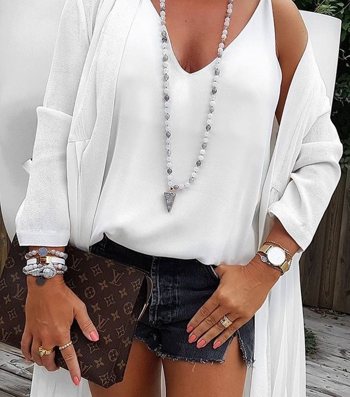 Mala halsband Agat från Nouelle