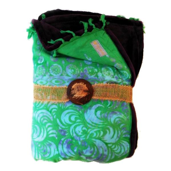 Yogafilt från E-swiss - Grön /grå