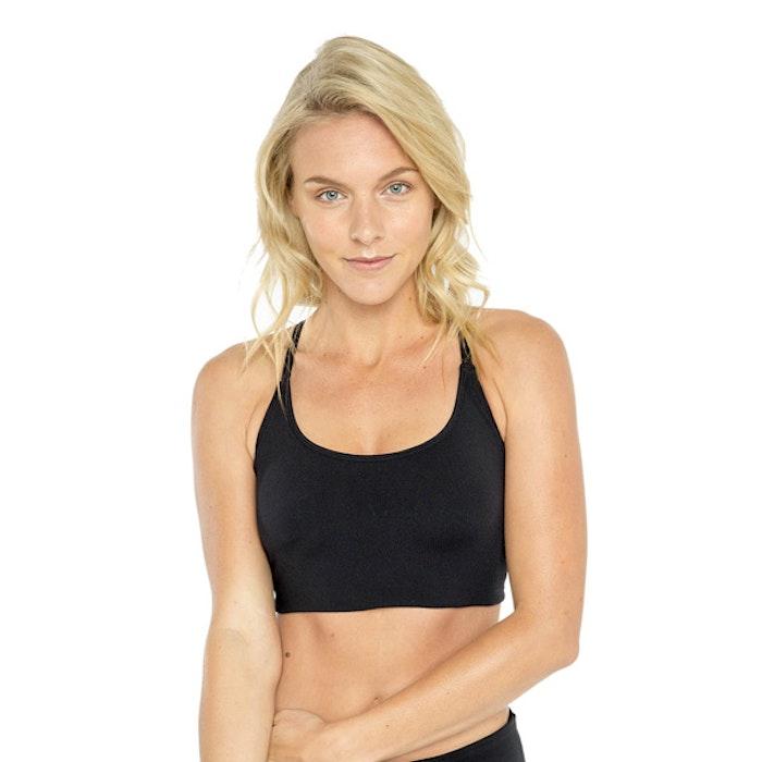 Sport-BH Yoga Qi flow Black - Dharma Bums