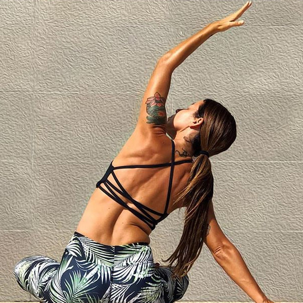 Yoga Bh Qi flow från Dharma Bums - Black