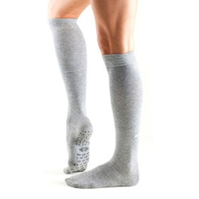 Yogastrumpor Stone Knee High Grip Socks Jane - Tavi Noir