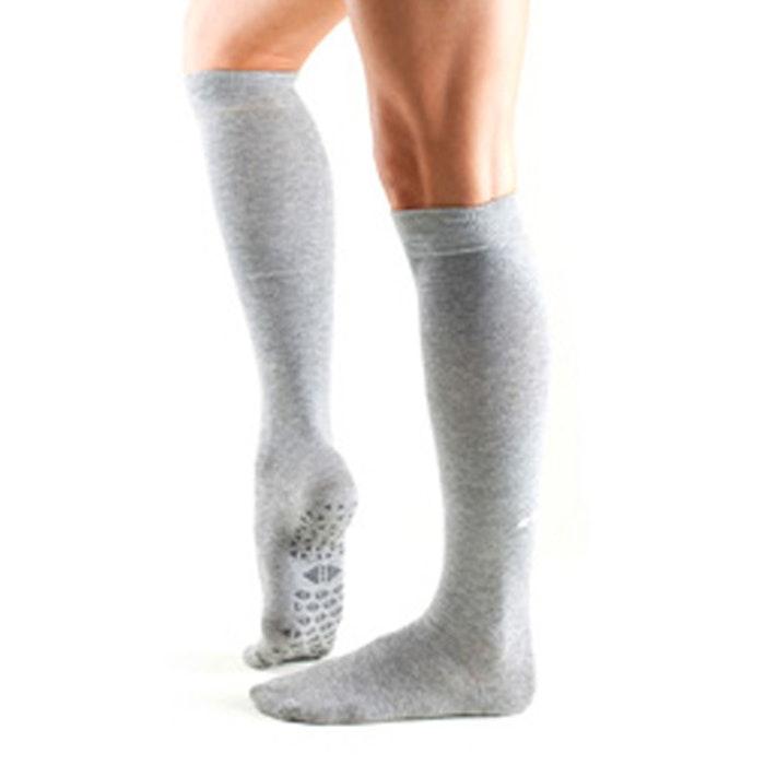 Yogastrumpor Tavi Noir Knee High Grip Socks Jane - Stone