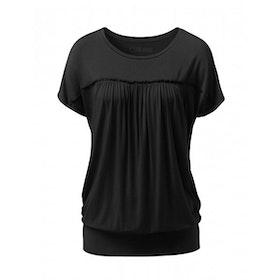 Yogatopp Spets från Curare Yogawear- Black