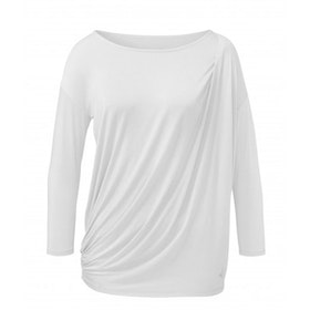 Yogatopp Toga white Shirt från Curare Yogawear- white