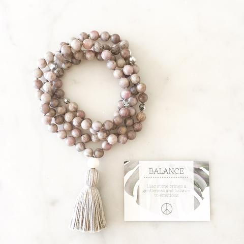 Yogahalsband Malas från The Beautiful Nomad - Balance