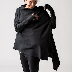 Kofta Wrap Me Up Black - Urban Goddess