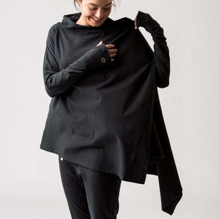 Kofta Wrap Me Up Urban Black - Urban Goddess