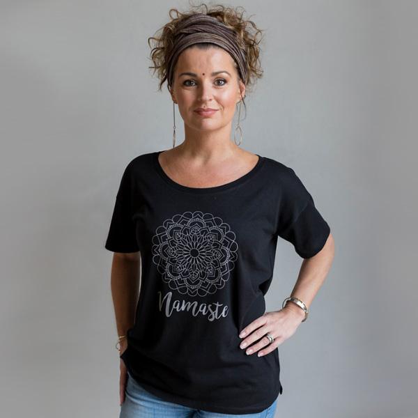 Yogia tröja Namaste svart