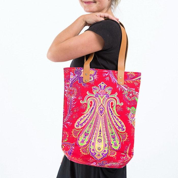 Bohemian Harem Väska - red orient