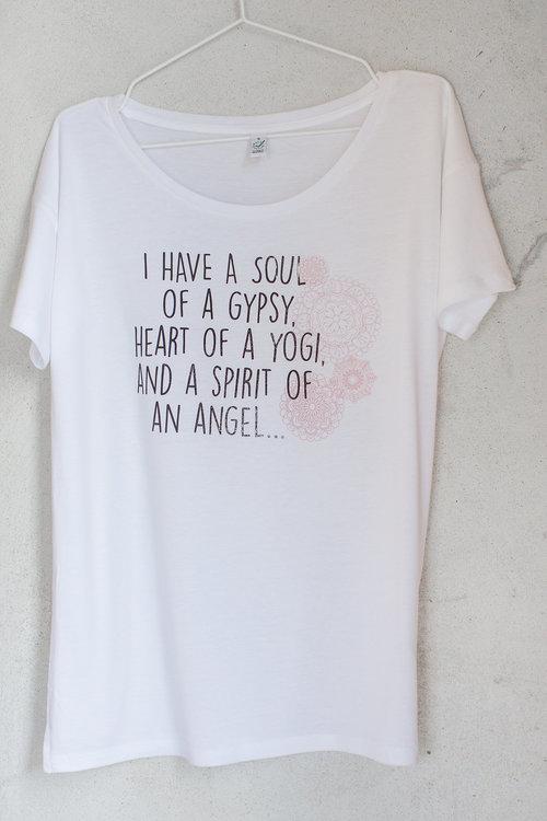 Yogia tröja I have a soul vit