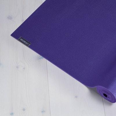 Yogamatta Allround 6mm Purple Allround från YogiRAJ
