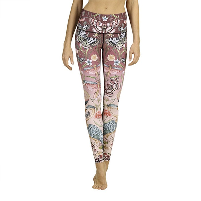 Yogaleggings Pretty in Pink - Yoga Democracy