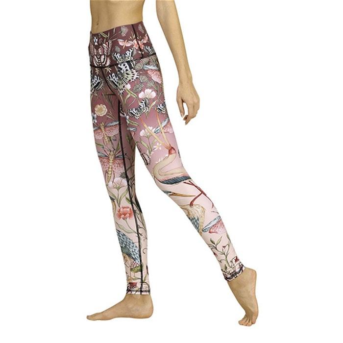 Yogaleggings Pretty in Pink från Yoga Democracy