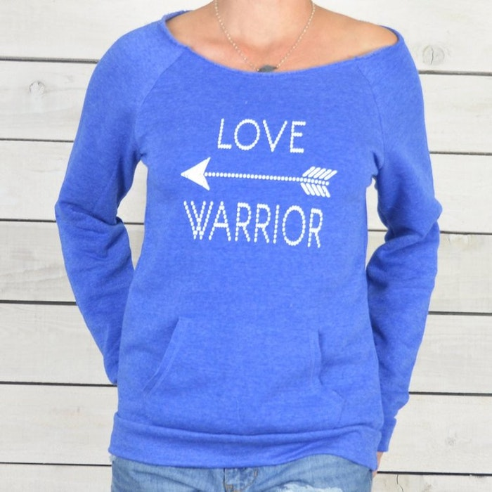 Långärmad Tröja Love Warrior från SuperLove Tees