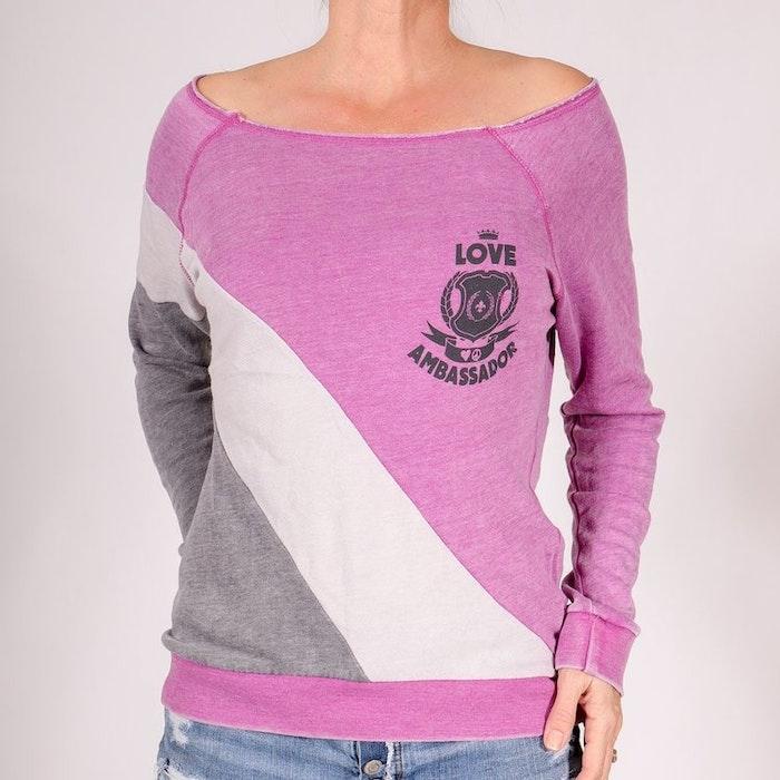 Tröja Love ambassador Pink från SuperLove Tees