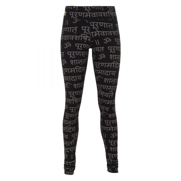 Yogaleggings Bhaktified Black/Shanti från Urban Goddess