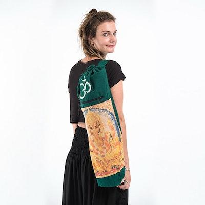 Bohemian Harem Yogaväska -  grön Ganesha