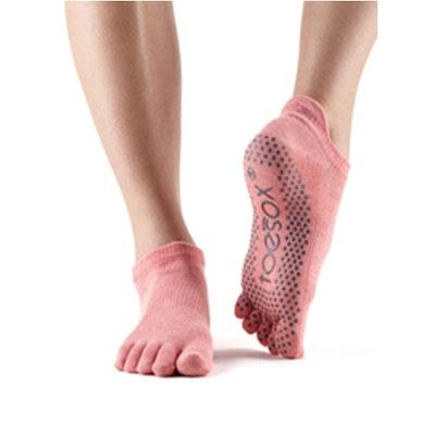 Yogastrumpor Fulltoe Low Rise Grip Melon - Toesox